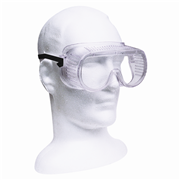 Picture of Livingstone Safety Barrier Goggles Spectacles, Anti-Scratch Break-Resistant Polycarbonate Lens with Elastic Strap, Vented, Each Livingstone Safety Barrier Goggles Spectacles, Anti-Scratch Break-Resistant Polycarbonate Lens with Elastic Strap, Vented, Each