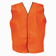 Picture of Protective Wear - Safety - Body Protection Safety Vests - Daytime Livingstone High Visibility Safety Vest, Large, Orange, Day Use, Each