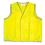 Picture of Protective Wear - Safety - Body Protection Safety Vests - Daytime Livingstone High Visibility Safety Vest, Extra Large, Yellow, Day Use, Each