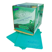 Picture of Wipes-Cleaning Cloths Sofeel Cleaning Cloths Regular Dispenser Per Carton Sofeel Cleaning Cloths, Regular Dispenser Pack, 40 x 30cm, High 70 Percent Viscose, Green, 40 Cloths, per Pack, 240 per Carton