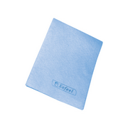 Picture of Wipes-Cleaning Cloths Sofeel Cleaning Cloths Regular Pack Sofeel Cleaning Cloths, Regular, 40 x 30cm, High 70 Percent Viscose, Sky Blue, 40 Cloths per Pack, 240 per Carton