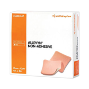 Picture of Dressing Hydrocellular Foam Dressings Allevyn AG Non Adhesive Smith & Nephew Allevyn Non Adhesive Foam Dressing, 10 x 10cm, 10 per Pack (SN7637)