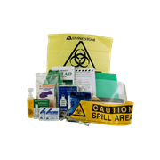 Picture of Livingstone Infectious Waste Clean Up Kit, Each Livingstone Infectious Waste Clean Up Kit, Each