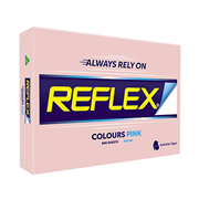 Picture of Stationery-General Stationeries Colours Reflex Premium Tinted Colour Papers, A4, 80 (W) GSM, Carbon Neutral, Biodegradable, Pink, 500 Sheets per Ream