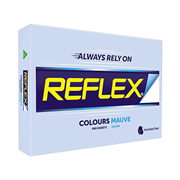 Picture of Stationery-General Stationeries Colours Reflex Premium Tinted Colour Papers, A4, 80 (W) GSM, Carbon Neutral, Biodegradable, Mauve, 500 Sheets per Ream