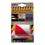 Picture of FIRST AID & SAFETY-SAFETY Workplace Safety Safety Tapes Reflective Zebra Tape Zebra Tape, 5 x 100cm, Reflective, Red and White, Each