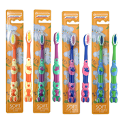 Picture of Oral Health-Oral Care Children Toothbrushes Livingstone Toothbrush, Child, Bear, Soft Dupont USA Bristles, 12 per Pack