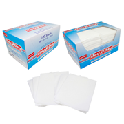 Picture of Day 2 Day All Purpose Towel, Lint Free, Small, 30 x 34cm, High 70 Percent Viscose, White, 100 per Box Day 2 Day All Purpose Towel, Lint Free, Small, 30 x 34cm, High 70 Percent Viscose, White, HACCP Certified, 100 per Box