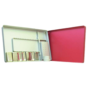 Picture of Endo-tray Complete Red 180x280x12mm Endo-tray Complete Red 180x280x12mm
