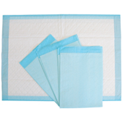 Picture of Bed Protectors-Underpads Livingstone Underpad, 5-Ply, 56 x 40cm, 170ml, Bluey, Machine Cut, 250 per Carton (BL500)
