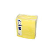Picture of Wipes-Cleaning Cloths Vistex Heavy Duty Vistex Cleaning Cloths, Heavy Duty, 40 x 38cm, Yellow, 25 Cloths per Pack