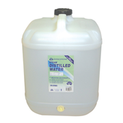 Picture of Livingstone Distilled Demineralised Water, 20 Litres, with Free Tap Attached Under The Cap, Each Livingstone Distilled Demineralised Water, 20 Litres, with Free Tap Attached Under The Cap, Each