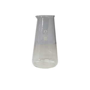 Picture of Glassware-Philip Beakers  Borosilicate Glass with Spout Bomex Beaker, 500ml, Conical, Graduated with Spout, Borosilicate Glass, Each