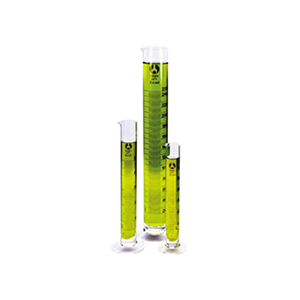 Picture of Bomex Measuring Cylinder Bomex Measuring Cylinder,Tall Form,10ml,Diameter 14mm Height 133mm,Amber Stain Graduations,Borosilicate Glass,Class A,24 Per Carton