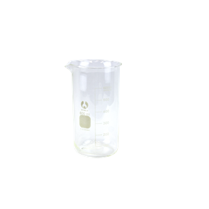 Picture of Laboratory Supplies-Beakers Borosilicate Glass Tall Form Bomex Beaker, 600ml, Tall Form, Graduated with Spout, Borosilicate Glass, Each