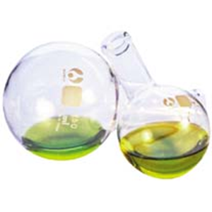 Picture of Glassware-Flasks Boiling Flasks Round Bottom Flask, Round Bottom, 50ml, Borosilicate Glass, Bomex, Each