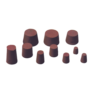 Picture of Livingstone Solid Rubber Stopper Solid Rubber Stopper, 57mm Base x 66mm Top x 42mm Height, Each