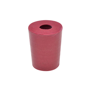 Picture of Livingstone Rubber Stopper One Hole Rubber Stopper, One Hole, 14mm Base x 19mm Top x 21mm Height, 10 per Pack