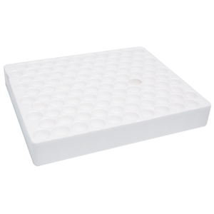 Picture of Livingstone Test Tube Tray 100 Holes LivingsTone Test Tube Tray 173X143X25mm For Up To 13mm Diameter Test Tubes 100 Positions, Styro-foam