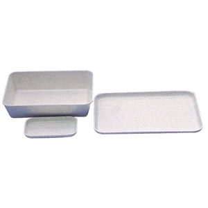 Picture of Plasticware-Trays Laboratory Trays PVC Aptaca Tray and Tank, 350(L) x 250(W) x 40(H)mm, Polystyrene, Each
