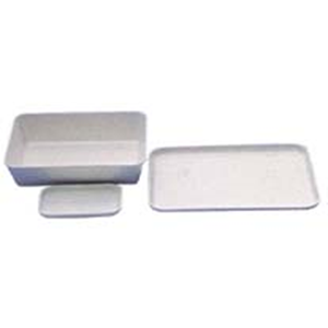 Picture of Aptaca Plastic Trays & Tanks Aptaca Recyclable Plastic Trays Tanks, 400 x 300mm, 80mm Height, High Impact Polystyrene, Food and Lab Use, 10 per Carton