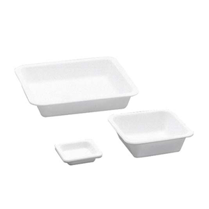 Picture of Livingstone Balance Boats Livingstone Balance Boats, Square, 7ml, 44 x 44 x 8.5mm, High Impact Recyclable Polystyrene, 0.62 grams, White, 250 per Bag