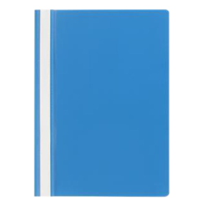 Picture of Office Supplies-Filing & Storage Products Files Marbig A4 Standard PVC Flat Files (Clear Front) Marbig Flat File, Economy, A4, Clear Front, Blue, Each