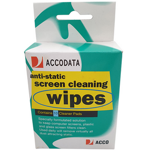 Picture of Marbig Optical Screen Wipes Marbig Optical Screen Wipes, 10 per Pack