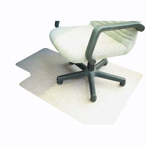 Picture of Dental-Office Supplies Furniture Chairmats Marbig Chairmat, 114 x 134cm, PVC, Clear, Each