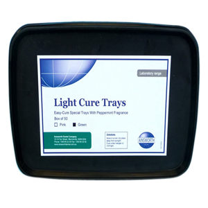 Picture of Ainsworth Light Cure Trays Ainsworth Light Cure Trays, Pink, 50 per Box