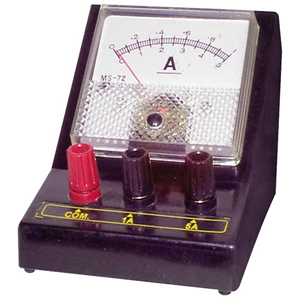 Picture of Laboratory-Ammeters Livingstone Ammeter, Dual Range, 0 - 1A/0 - 5A, Square, Each