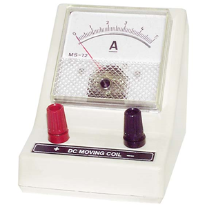 Picture of Laboratory-Ammeters Livingstone Ammeter, Single Range, 0 - 5A DC, Square, Each