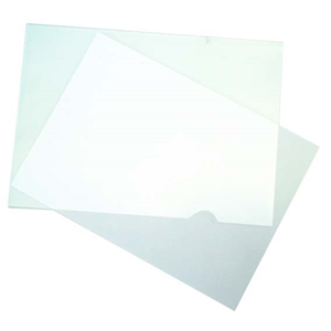 Picture of Dental-Office Supplies Filing & Storage Products Letter Files Bantex Letter File, A4, Clear, Each