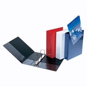 Picture of Pharmacy-Office Supplies Filing & Storage Products Ring Binders Insert Binders Bantex Inser Binder, A5, 25mm, 2-D Ring, Red, Each