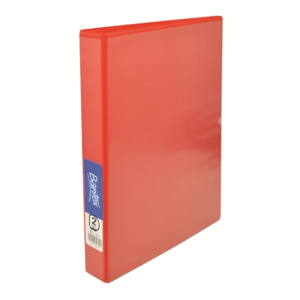 Picture of Hair & Beauty-Office Supplies Filing & Storage Products Ring Binders Insert Binders Bantex Insert Ring Binder, A4, 38mm, 2 D-Rings, Red, Each