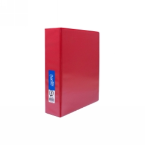 Picture of Office Supplies-Filing & Storage Products Ring Binders Insert Binders Bantex Insert Ring Binder, A4, 50mm, 2 D-Rings, Red, Each