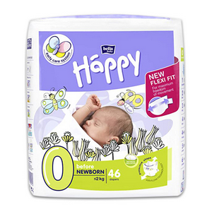 Picture of Miscellaneous-Child Care Supplies Baby Diapers And Overnight Pads Before Newborn Bellababies Baby Diapers Before Newborn, Up to 2kg, 46 per Pack