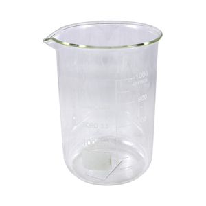 Picture of Lincon Beaker Low Form Lincon Beaker, 1000ml, Low Form, Graduated with Spout, Borosilicate Glass, 1 per Box