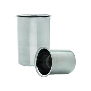 Picture of Laboratory Supplies-Beakers Stainless Steel Beaker, 500ml, without Spout, Stainless Steel, Each