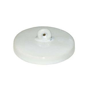 Picture of Livingstone Crucible Lid Lid for 25ml Crucible, Porcelain, Each