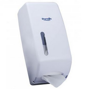 Picture of Caprice Interleaved Toilet Tissue Dispenser Caprice Interleaved Toilet Tissue Dispenser, 13 x 13 x 31cm, ABS Plastic, White, Each