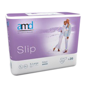 Picture of Cello AMD Slip Adult Pad Maxi AMD Slip Adult Pad, Cotton Feel, Maxi Absorbent, Extra Large, 110-170cm, 4000ml, 20 per Bag, 3 Bags or 60 per Carton