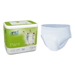 Picture of Cello AMD Adult Pull Up Diaper Pants AMD Adult Pull Up Diaper Pants, Cotton Feel, Super Absorbent, Small, 60-90cm Waist, 14 per Bag, 84 per Carton