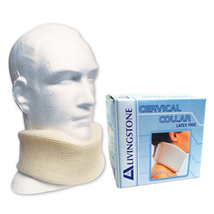 Picture of Rehabilitation-Protector Immobilisation Cervical Collar Livingstone Cervical Collar, Large, Soft Foam, In Display Box, Each