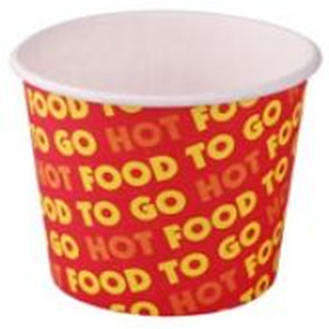 Picture of Paper Chip Cup Paper Chip Cup, Biodegradable, 8 Ounce or 113 Grams, 50 per Sleeve