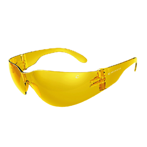 Picture of Chimera Gecko Safety Glasses Chimera Gecko Safety Glasses Protective Wear Amber Lens Anti-Fog Anti-Scratch Polycarbonate Meets AS/NZS 1337.1:2010 Standard, 10 per Box